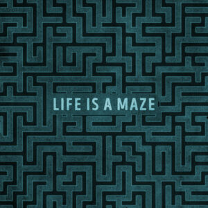 Maze ALbum cover art design for sale