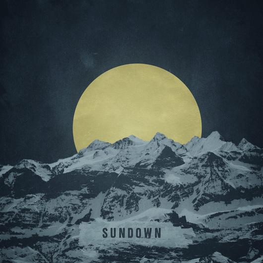 Sunset Album cover art for sale graphic designer