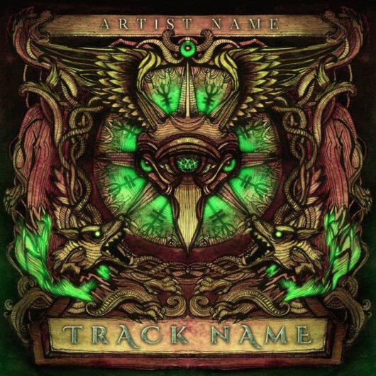 Metal Album cover art design services