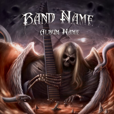 metal album cover art designs for sale