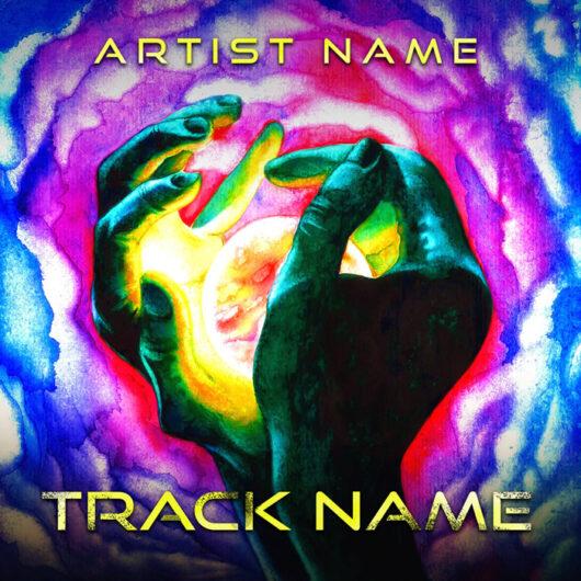 psychedelic cover art design designer