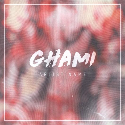 EDM Pre-made Album cover art design for sale
