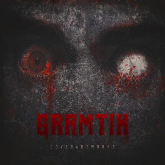 Scary eyes blood album cover by designer Prateek Mishra