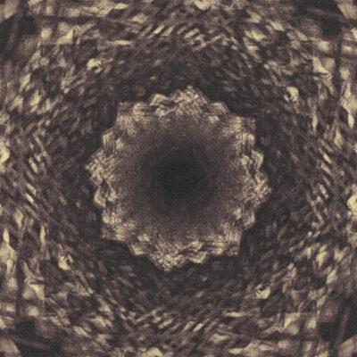 psychedelic cover art by designer Prateek Mishra
