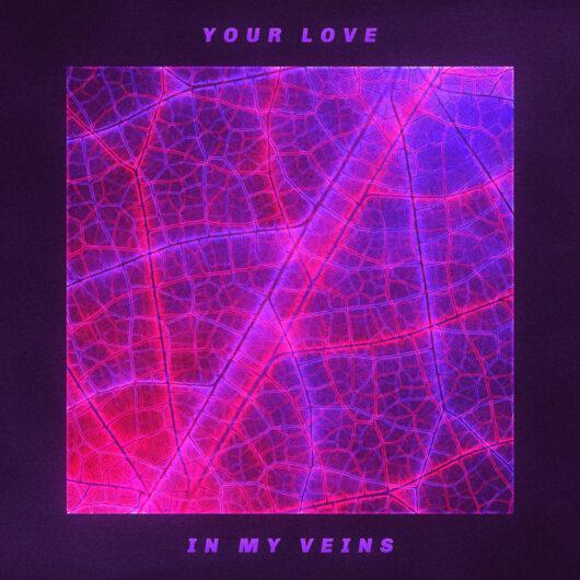 Blood Veins Album cover art design by Prateek Mishra