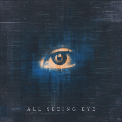 All seeing eye Cover art design by Prateek Mishra
