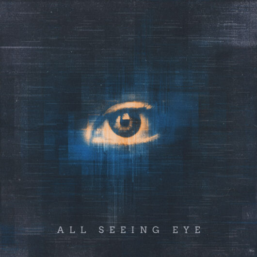 All seeing eye Cover art design by Prateek Mishra