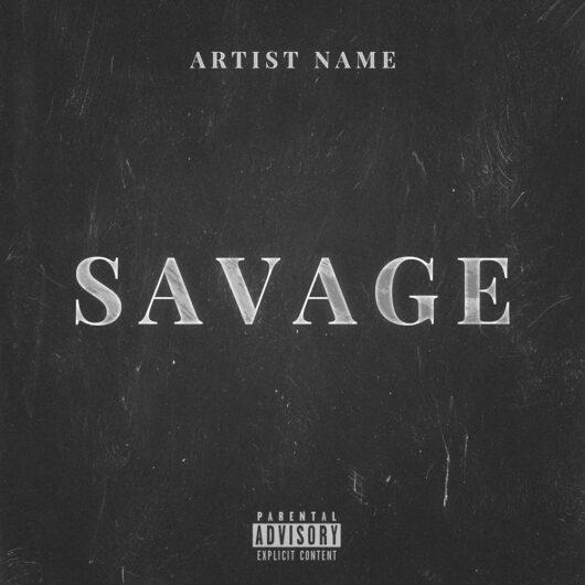 Savage Cover art by Prateek Mishra