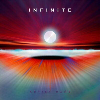 Colorful album cover art